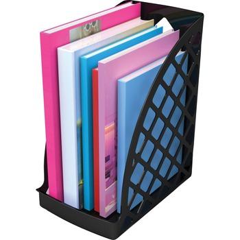 deflecto® Sustainable Office Magazine File, Black