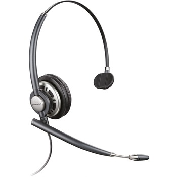 Plantronics® EncorePro 700 Digital Series Customer Service Headset - Mono - USB - Wired - Over-the-head - Monaural - Supra-aural - Noise Canceling