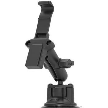 Otterbox RAM Mounts Suction Cup Mount for uniVERSE iPhone Cases - Stainless Steel, Aluminum - Black