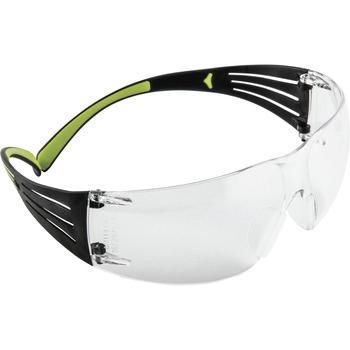 3M™ SecureFit, 400-Series, Protective Eyewear, Clear Anti-fog Lens, Adjustable Temple, Ultraviolet Protection, Polycarbonate Lens, Clear, Black