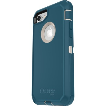 Otterbox Defender Carrying Case (Holster) Apple iPhone 8, iPhone 7 Smartphone - Big Sur