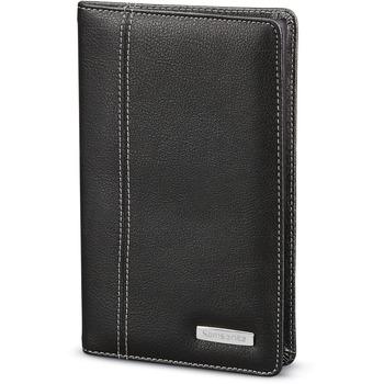 "Samsonite® Business Card Holder, 8"" x 0.5"" x 5"", Black"