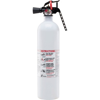 Kidde Kitchen Fire Extinguisher - Lightweight, Non-toxic, Corrosion Resistant, Impact Resistant, Rust Resistant - White