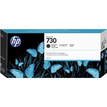 HP HP 730 Ink Cartridge - Matte Black - Inkjet