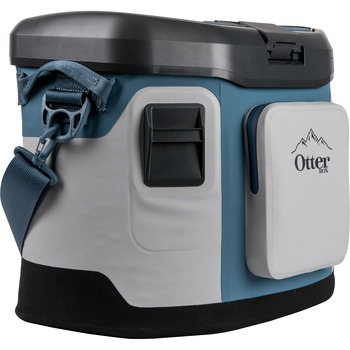 Otterbox Trooper 20 Cooler - 5 gal - Hazy Harbor - Thermoplastic Polyurethane (TPU), Nylon - Thermal Shield Insulation
