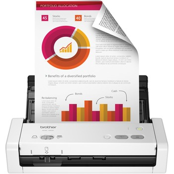 ADS-1200 Compact Desktop Scanner - 48-bit Color - 25 ppm (Mono) - 25 ppm (Color) - Duplex Scanning - USB