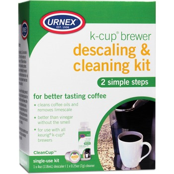 K-Cup Brewer Cleaning Kit, For Coffee Brewer, White