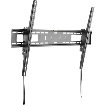 "Flat Screen TV Wall Mount - Tilting - For 60"" to 100"" VESA Mount TVs - Steel - Heavy Duty TV Wall Mount - Low-Profile Design - Fits Curved TVs - 1 Display(s) Supported100"" Screen Support - 165.35 lb Load Capacity - 400 x 300 VESA Standard"