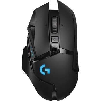 G502 LIGHTSPEED Wireless Gaming Mouse - Optical - Wireless - Radio Frequency - USB 2.0 - 16000 dpi