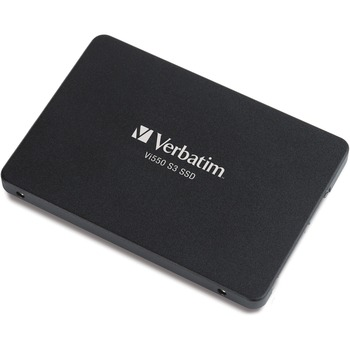 "Verbatim® Vi550 S3 128 GB Solid State Drive - SATA (SATA/600) - 2.5"" Drive - 75 TB (TBW) - Internal - 560 MB/s Maximum Read Transfer Rate - 535 MB/s Maximum Write Transfer Rate"