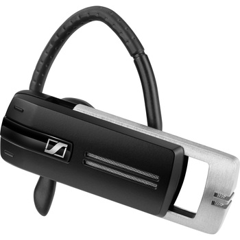 Sennheiser PRESENCE Grey Business - Mono - Wireless - Bluetooth - 82 ft - 150 Hz - 6.80 kHz - Earbud - Monaural - In-ear - Noise Filtering, MEMS Technology Microphone - Gray