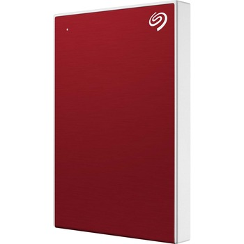 "Seagate® Backup Plus Slim 2 TB Portable Hard Drive - 2.5"" External - Red - USB 3.0 Type C - 2 Year Warranty"