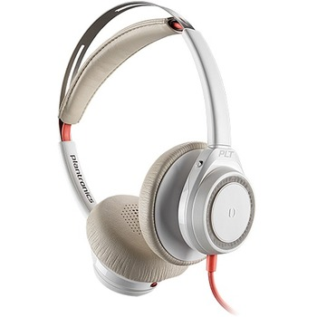 Blackwire 7225 Headset - Stereo - USB Type C - Wired - 32 Ohm - 20 Hz - 20 kHz - Over-the-head - Binaural - Supra-aural - Noise Cancelling, Omni-directional Microphone - Noise Canceling - White