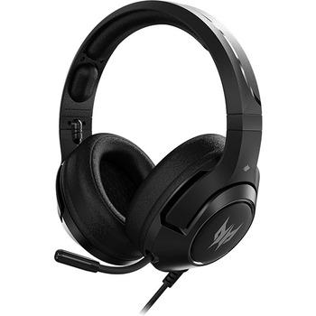 Predator Galea 350 Gaming Headset - Stereo - Mini-phone, USB - Wired - 32 Ohm - 20 Hz - 20 kHz - Over-the-head - Binaural - Circumaural - 3.94 ft Cable - Noise Cancelling Microphone - Black
