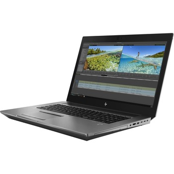 "HP HP ZBook 17 G6 17.3"" Mobile Workstation - 1920 x 1080 - Core i7 i7-9750H - 16 GB RAM - 512 GB SSD - Windows 10 Pro 64-bit - Intel UHD Graphics 630 with 4 GB, NVIDIA Quadro T1000 - In-plane Switching (IPS) Technology - English Keyboard - Infrared Camera - Bluetooth"