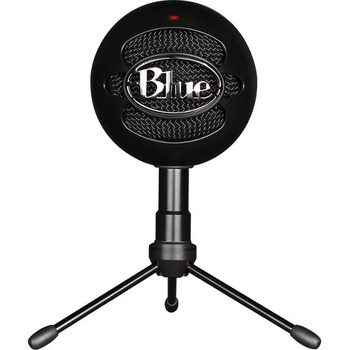 Logitech® Blue Snowball iCE Microphone - 40 Hz to 18 kHz - Wired - Condenser - Cardioid - Stand Mountable - USB