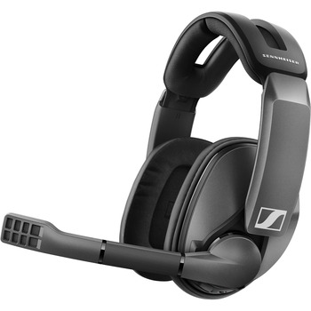 Sennheiser GSP 370 Wireless Gaming Headset - Stereo - Wireless - 20 Hz - 20 kHz - Over-the-head - Binaural - Circumaural - Noise Cancelling, Uni-directional Microphone