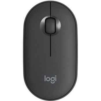Pebble Wireless Mouse M350 - 2.40 GHz - Graphite - USB