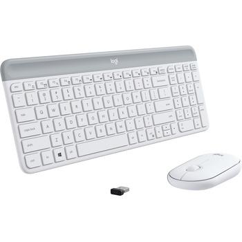 Logitech® Slim Wireless Keyboard and Mouse Combo MK470