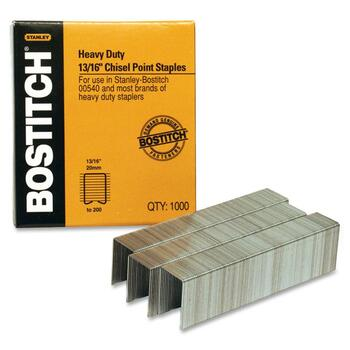 "Bostitch® 13/16"" Heavy Duty Premium Staples, 1,000/BX"