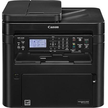 Canon imageCLASS MF264dw Laser Multifunction Printer - Monochrome - Copy/Printer/Scanner - 30 ppm Mono Print - 600 x 600 dpi Print - Automatic Duplex Print - 600 dpi Optical Scan - 251 sheets Input - Fast Ethernet - Wireless LAN - Apple AirPrint