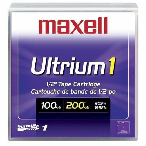 Maxell LTOU1/100 Ultrium LTO-1 Data Cartridge