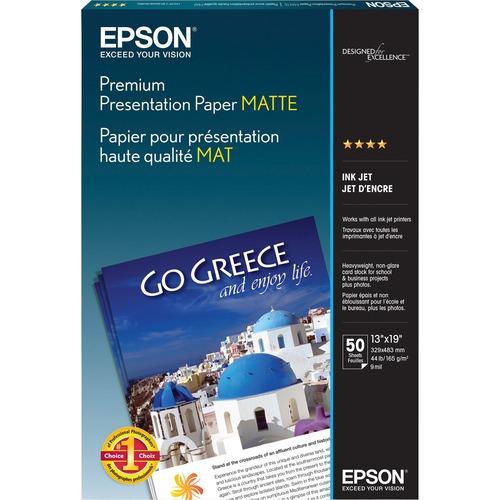 Epson Matte paper - Super B (13 in x 19 in) - 167 g/m2