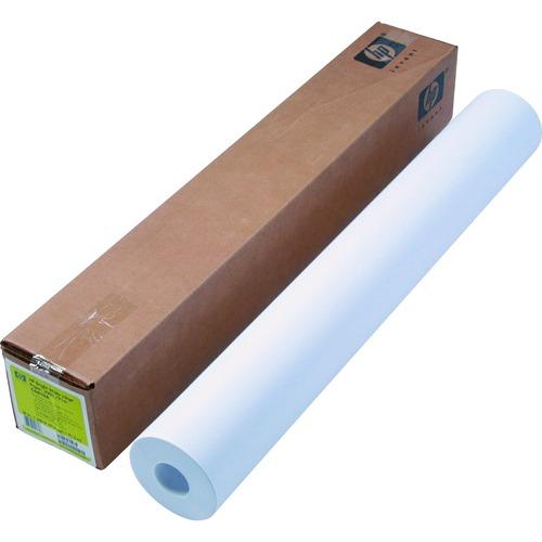 "HP Inkjet Bond Paper - White - 95 Brightness - 94% Opacity - 36"" x 300 ft - 24 lb Basis Weight - Matte"