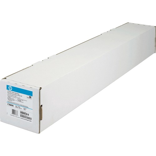 "HP Inkjet Bond Paper - White - 95 Brightness - 94% Opacity - 24"" x 150 ft - 24 lb Basis Weight - Matte - 1 / Roll"