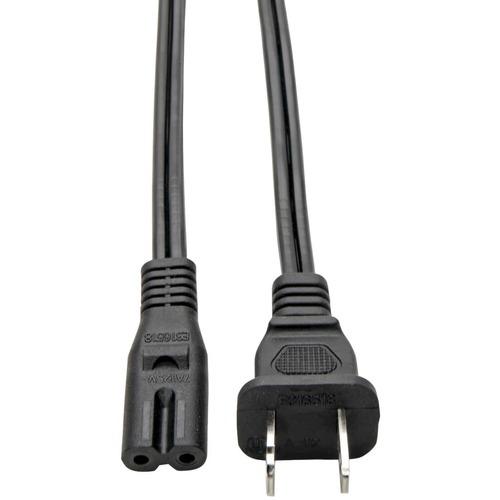 Standard Laptop / Notebook Power Cord 10A (NEMA 1-15P to IEC-320-C7) 6-ft.