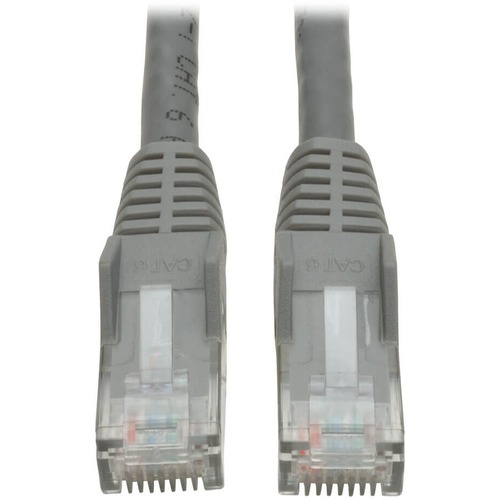3FT CABLE CAT6 GIGABIT PATCH SNAGLESS GRY
