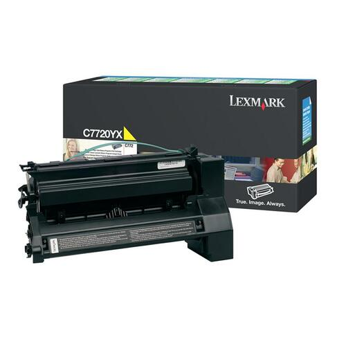 Toner Cartridge - Yellow - 15000 pages at 5% coverage - for Lexmark C772n / C772