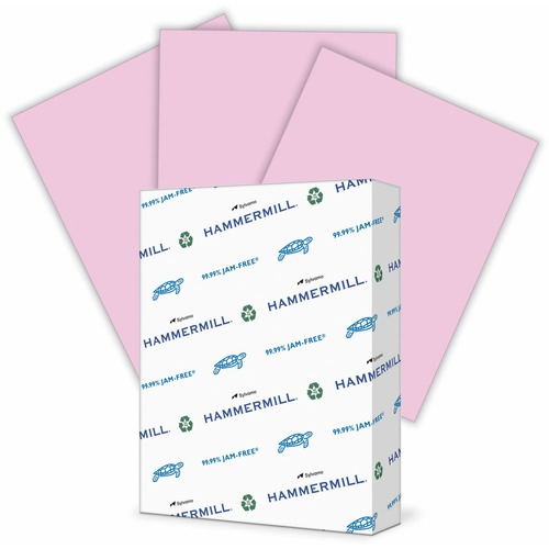 """Hammermill Paper for Copy 8.5x11 Laser, Inkjet Copy & Multipurpose Paper - Lilac - Recycled - 30% - Letter - 8 1/2"""" x 11"""" - 20 lb Basis Weight - Smooth - 500 / Ream - SFI"""