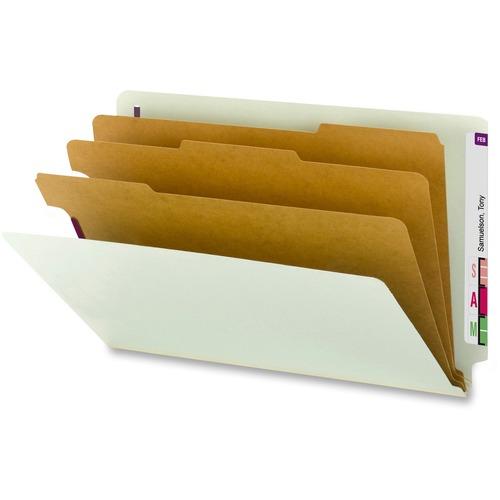Smead 1/3 Tab Cut Legal Recycled Classification Folder