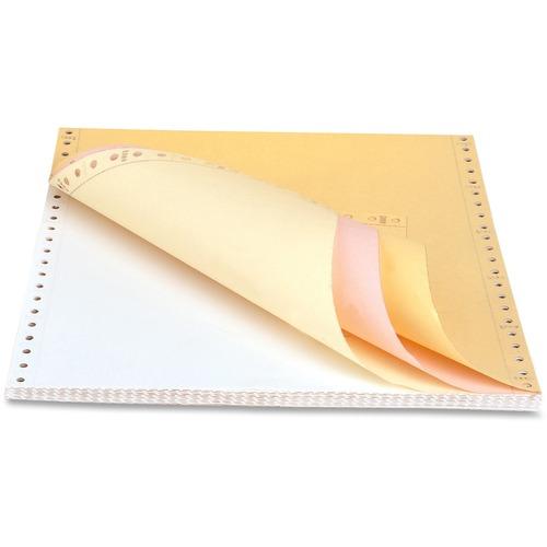 "Sparco Dot Matrix Continuous Paper - Assorted - Letter - 8 1/2"" x 11"" - 15 lb Basis Weight - 900 / Carton"