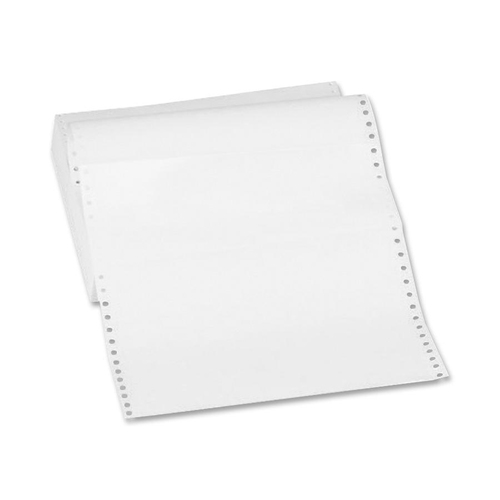 """Sparco Continuous Paper - White - Letter - 8 1/2"""" x 11"""" - 18 lb Basis Weight - 2600 / Carton"""