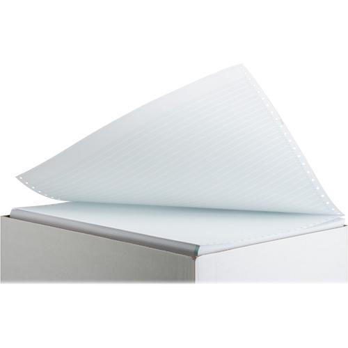 "Sparco Continuous Paper - Green Bar - 14 7/8"" x 11"" - 20 lb Basis Weight - 2700 / Carton"