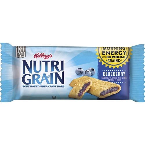 Kellogg's&reg Nutri-Grain&reg Bar Blueberry - Individually Wrapped, Low Fat - Blueberry