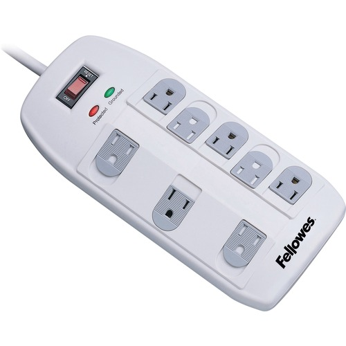 Fellowes 8 Outlet Superior Surge Protector - 8 Receptacle(s) - 2160 J