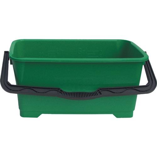 Unger Heavy-duty 6-gallon Pro Bucket - 22.71 L - Handle - Green - 1 Each