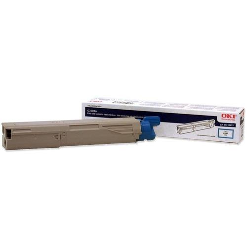 Okidata 43459403 Cyan Toner Cartridge - Cyan - LED - 1000 Page