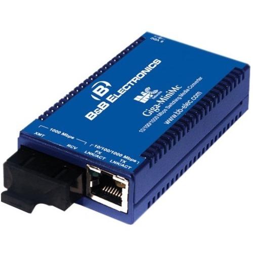 B&B Giga-MiniMc, TX/SSLX-SM1550-SC  (1550xmt/1310rcv)