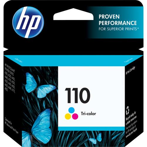 HP 110 Tri-Color Ink Cartridge