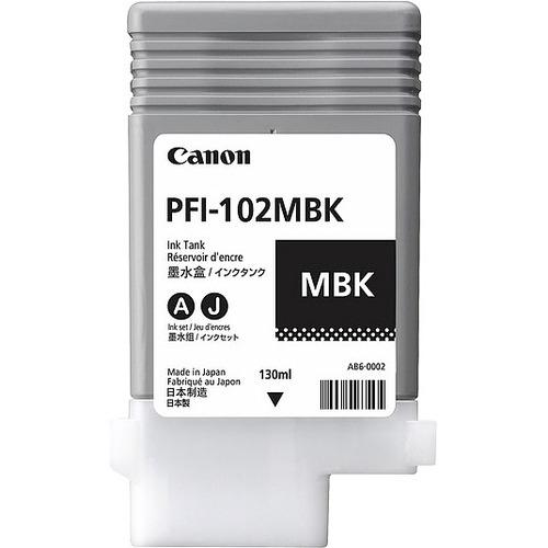 CANON - SUPPLIES PFI-102MBK MATTE BLACK FOR IPF610