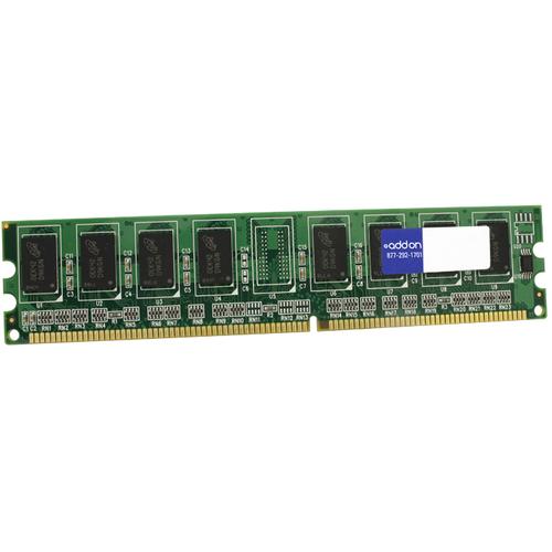 JEDEC Standard 2GB DDR2-667MHz Unbuffered Dual Rank 1.8V 240-pin CL5 UDIMM