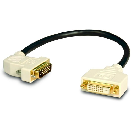 Tripp Lite DVI Dual Link Digital Extension Adapter Cable with 45 degree Left Plug