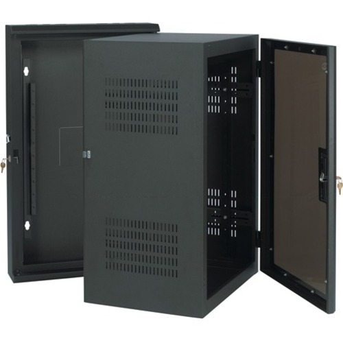 "Chief 10U, 17"" Deep Sectional Wall Rack"