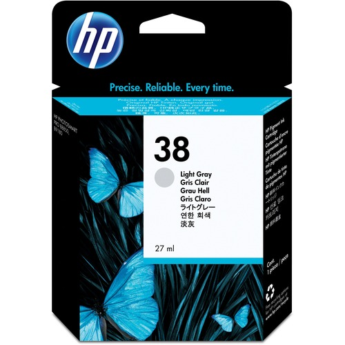 HP C9414A Ink Cartridge - Light Grey