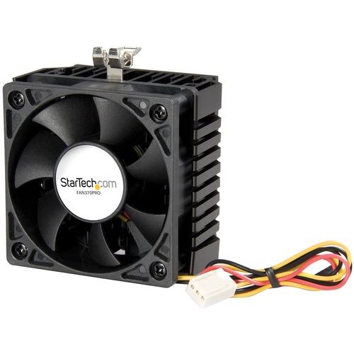 StarTech.com 65x60x45mm Socket 7/370 CPU Cooler Fan w/ Heatsink And TX3 connector - 58 mm