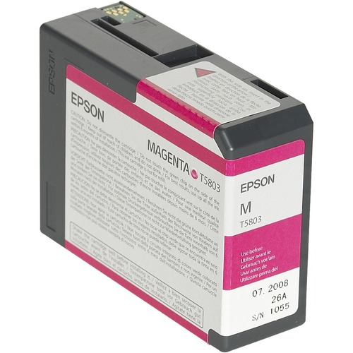Epson UltraChrome T5803 Ink Cartridge - Magenta